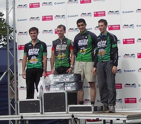 Mountain Mayhem 2007 Varsity Podium